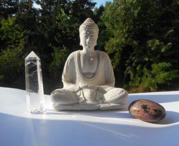 Méditation à la rencontre des pierres